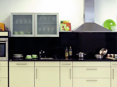 Waterkering werkblad keuken